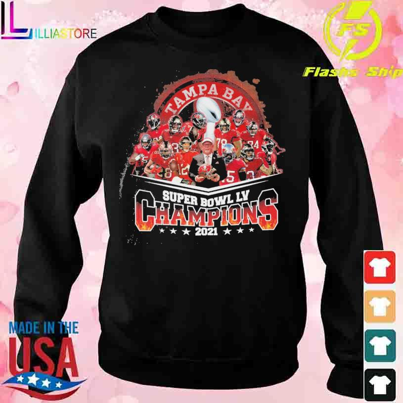 Tampa Bay Buccaneers Super Bowl LV Champions 2021 s sweater