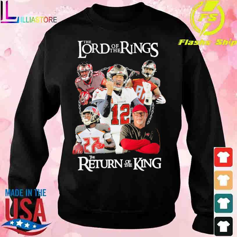 Tampa Bay Buccaneers team The Lord of the Rings the Return of the King s sweater