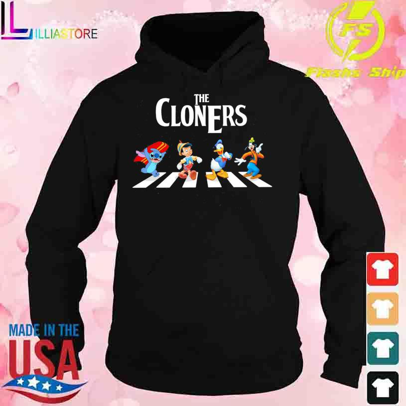 The Cloners Stitch and Disney Abbey Road s hoodie