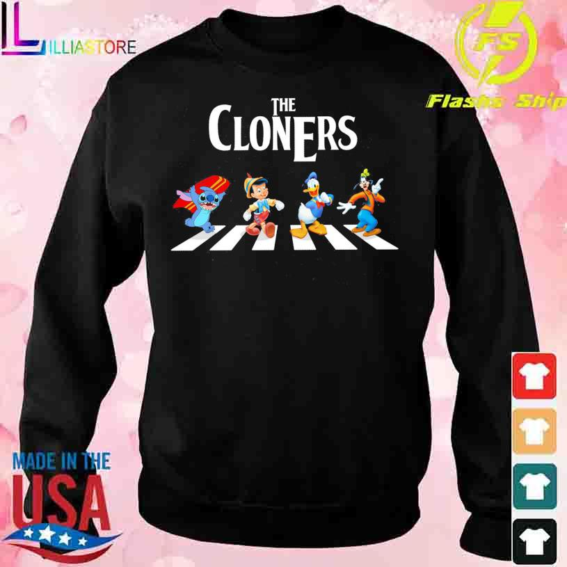 The Cloners Stitch and Disney Abbey Road s sweater