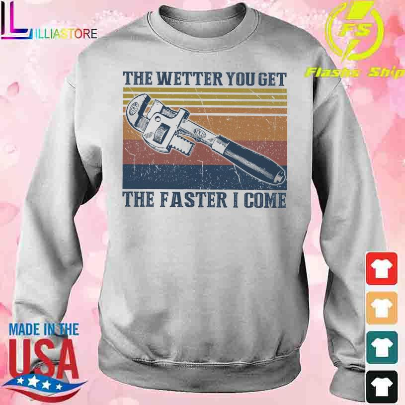 The wetter You get the faster I come vintage s sweater