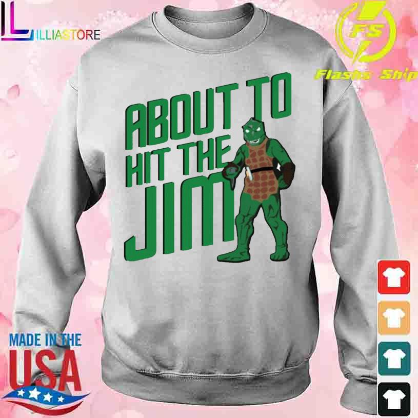 Star Trek about to hit the Jim Shirt sweater