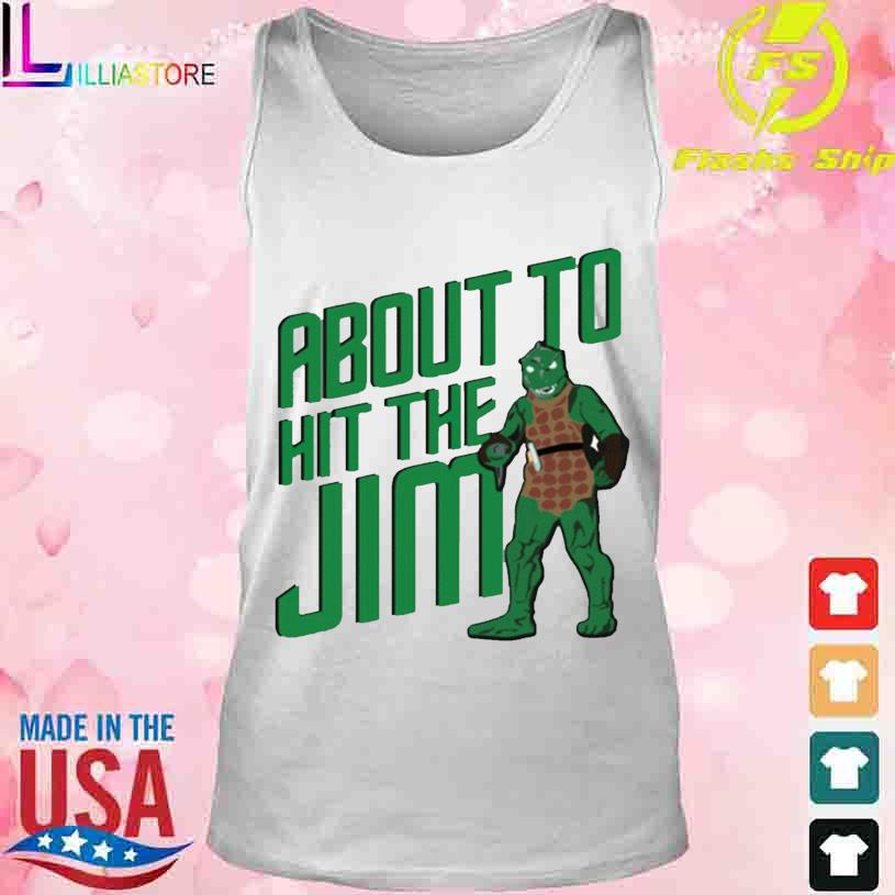 Star Trek about to hit the Jim Shirt tank top