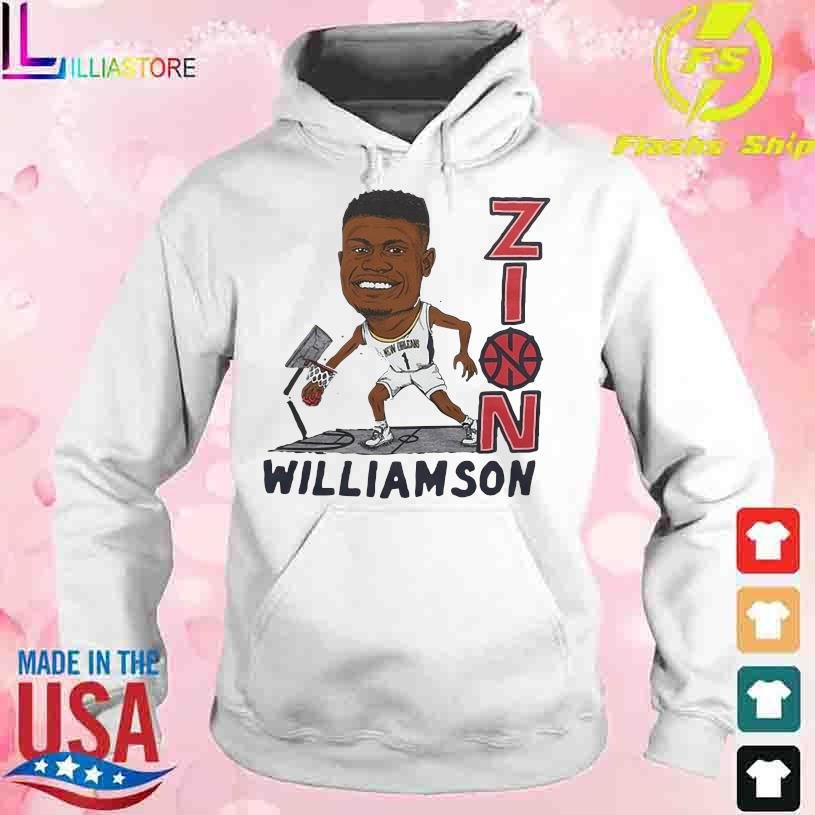 Zion Williamson New Orleans 1 Football s hoodie