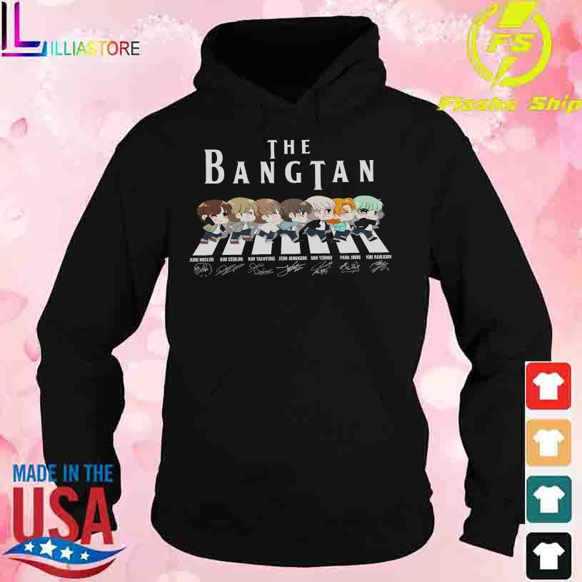 Abbey Road the Bangtan signatures s hoodie