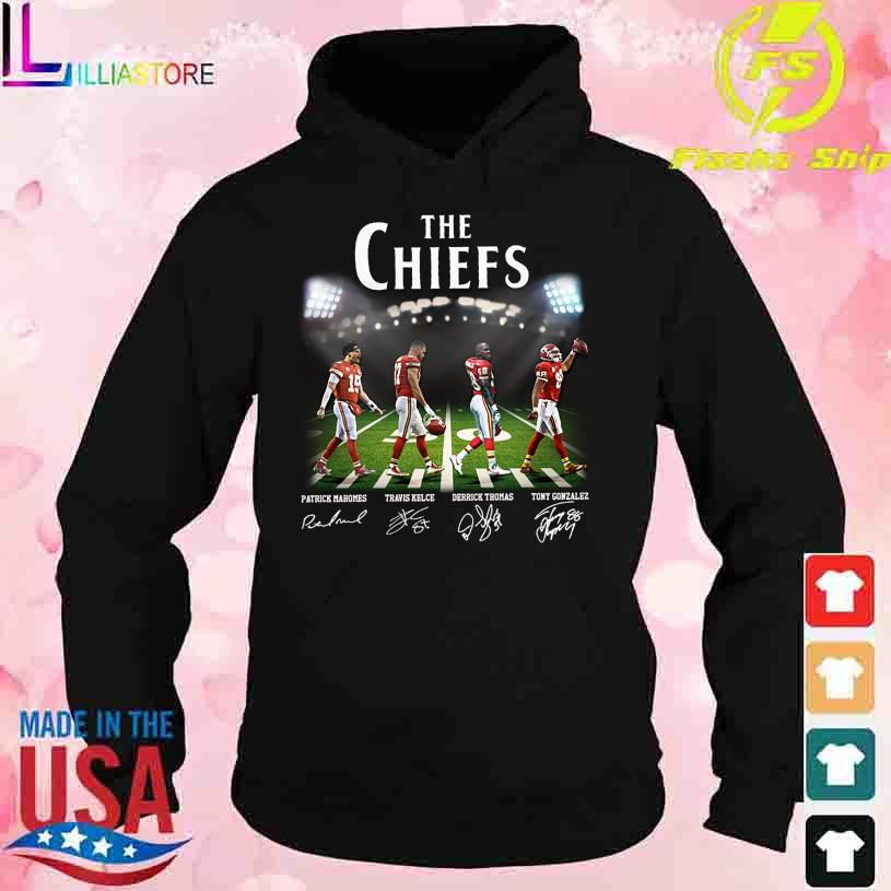 Abbey Road The Chiefs signatures s hoodie