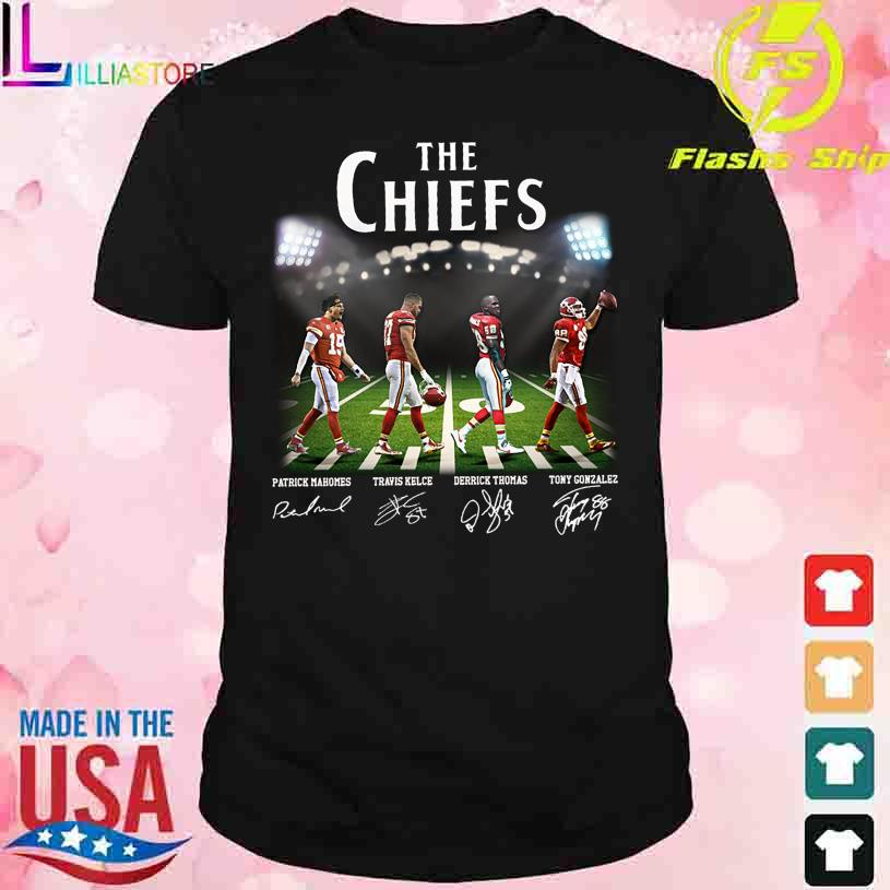 Abbey Road The Chiefs signatures shirt