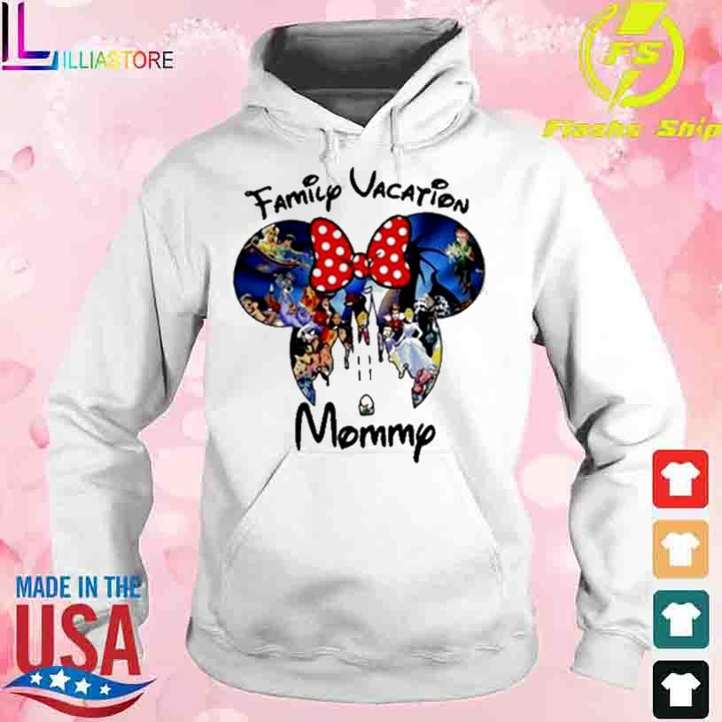 Disney Family Vacation Mommy s hoodie
