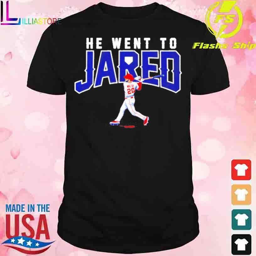Trending Jared Walsh he went to Jared shirt