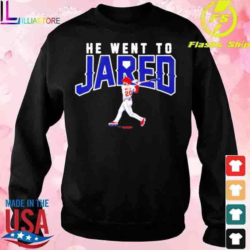 Trending Jared Walsh he went to Jared s sweater