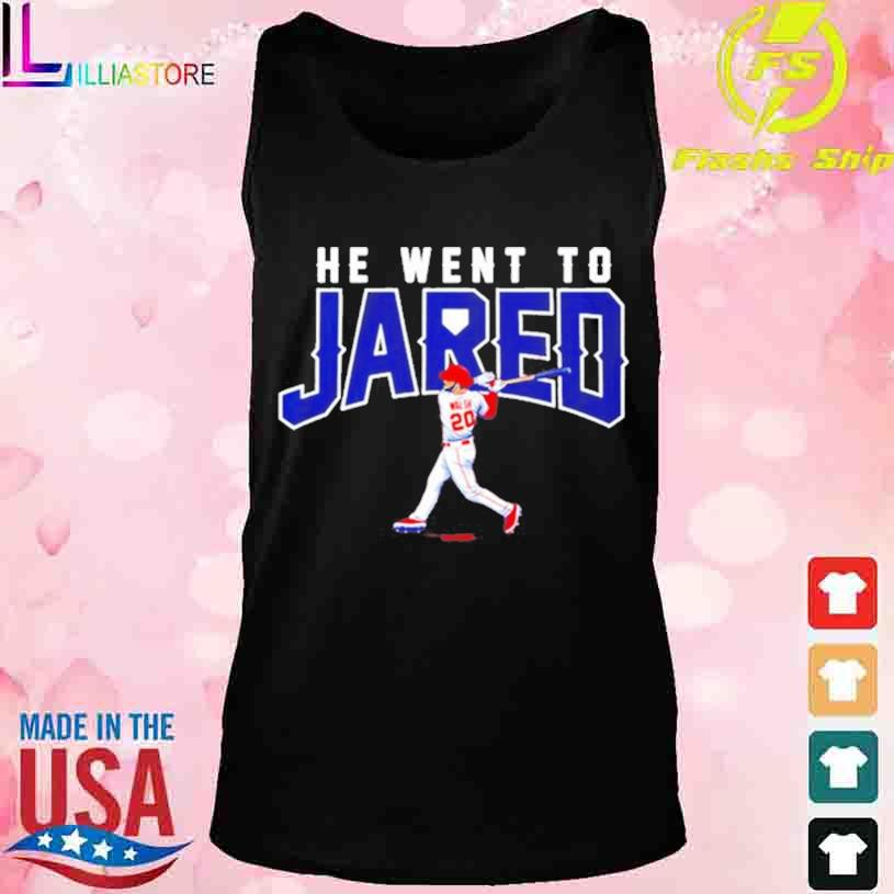 Trending Jared Walsh he went to Jared s tank top