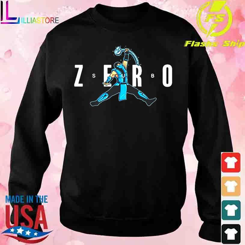 Zero Kombat Mortal Shirt sweater