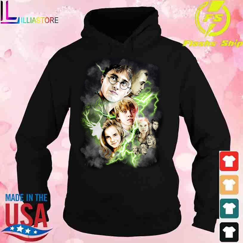 Official Harry Potter Character lightning s hoodie